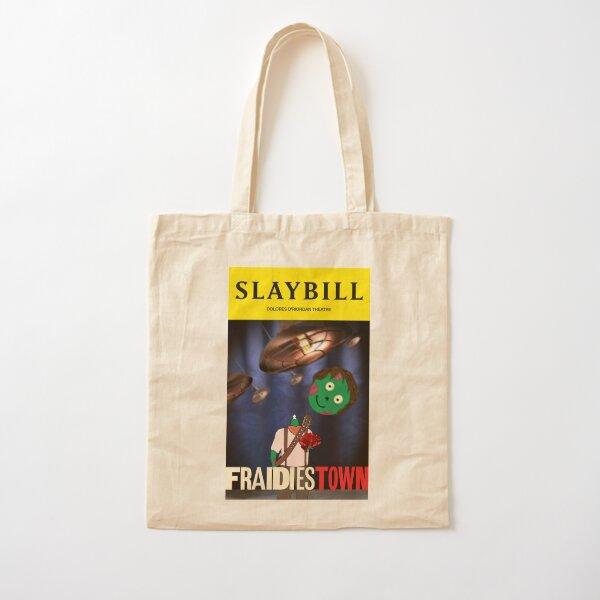 Broadway Zombie Fraidiestown Slaybill Cotton Tote Bag