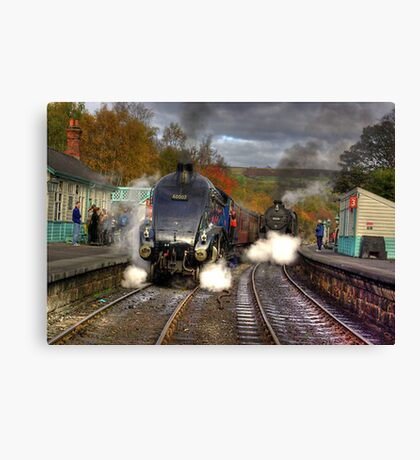 Grosmont - Revisited Canvas Print