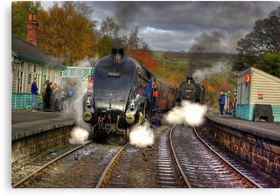 Grosmont - Revisited by Trevor Kersley
