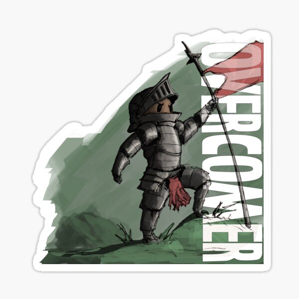 Little Knight (overcomer) Sticker