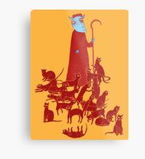 Herding Cats Metal Print