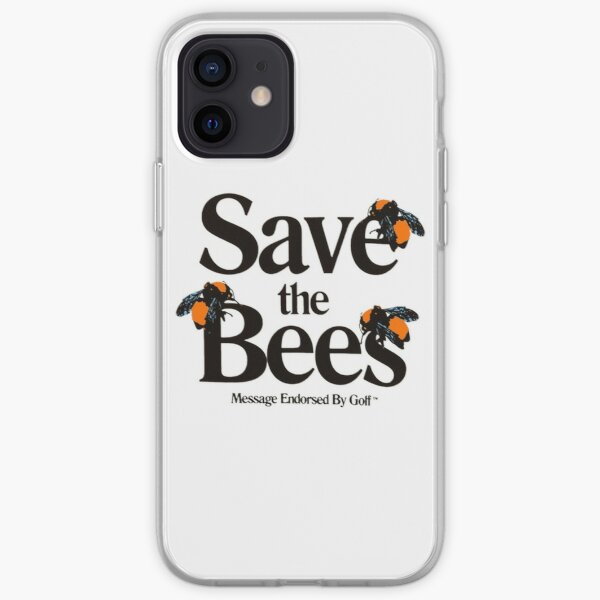 Save The Bees Golf Wang Logo iPhone Soft Case