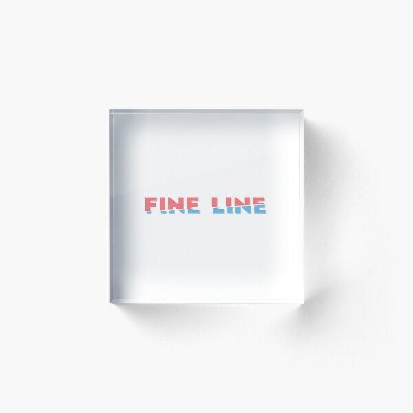 Fine line Acrylic Block