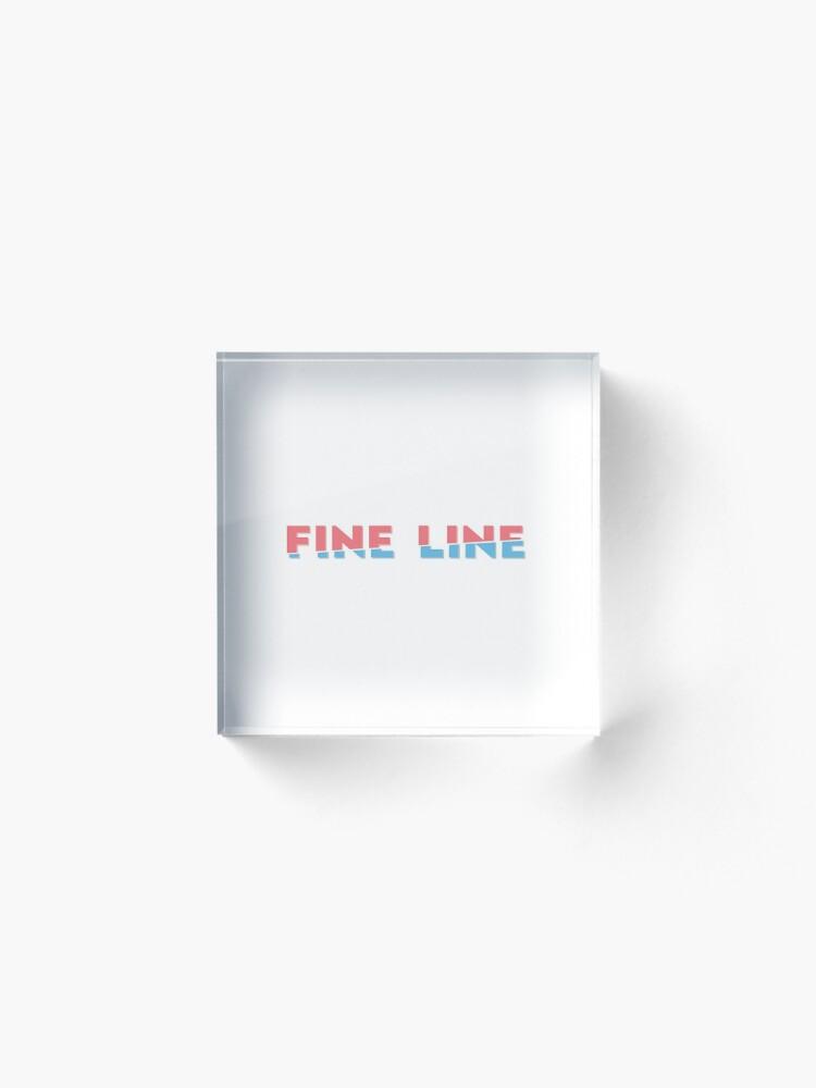 Alternate view of Fine line Acrylic Block
