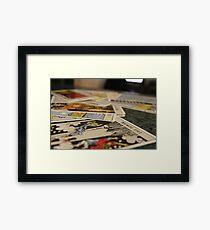 Tarot, Pick your Choice Framed Print