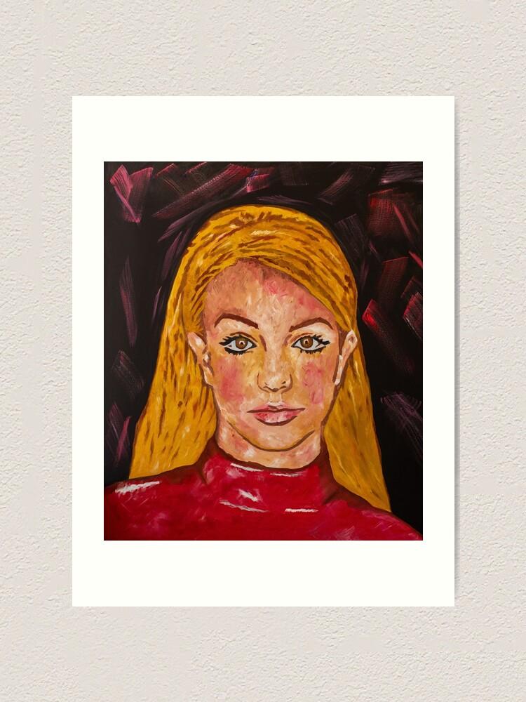 Alternate view of Oil Painting Oops Art Print