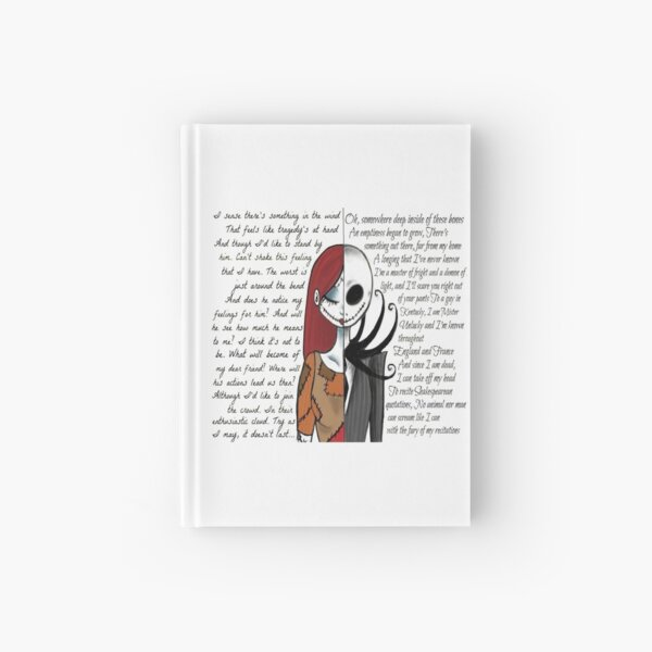 Nightmare Before Christmas Hardcover Journal