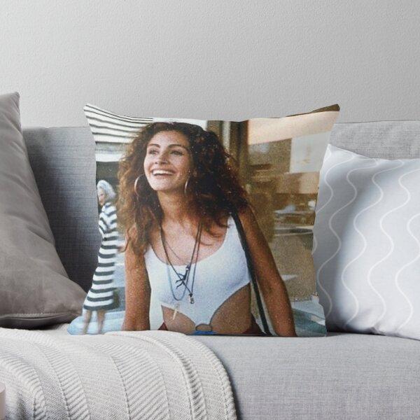 Julia Roberts Young 2.0 Throw Pillow