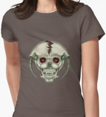 Alien Skull Tee Women's Fitted T-Shirt
