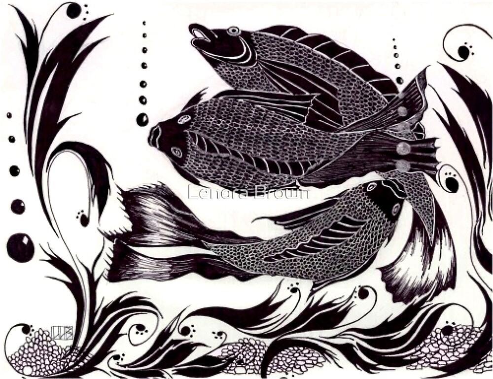 Fish Dance by Lenora Brown