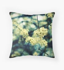 Lost in Flowers Throw Pillow