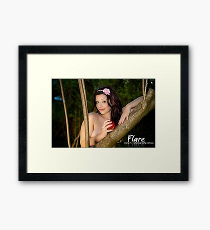 Tempted? Framed Print