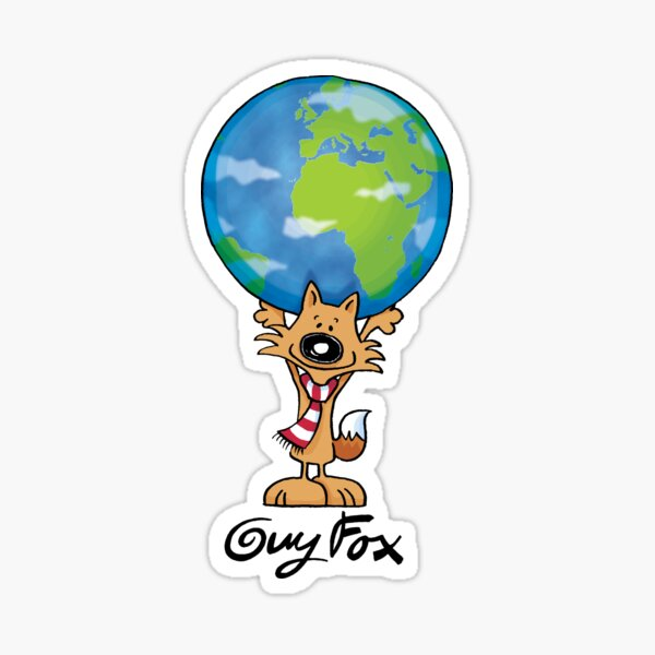 Guy Fox World Sticker
