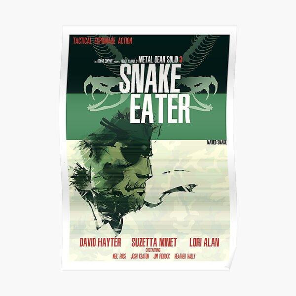Jungle - Metal Gear Solid 3: Snake Eater Póster