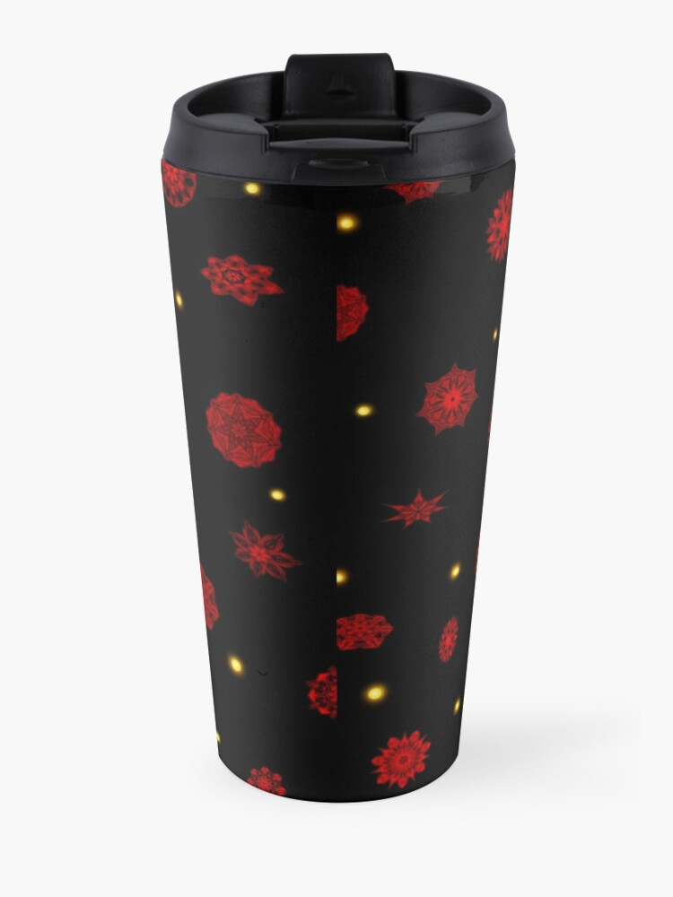 Alternate view of Fire in the Night Travel Mug