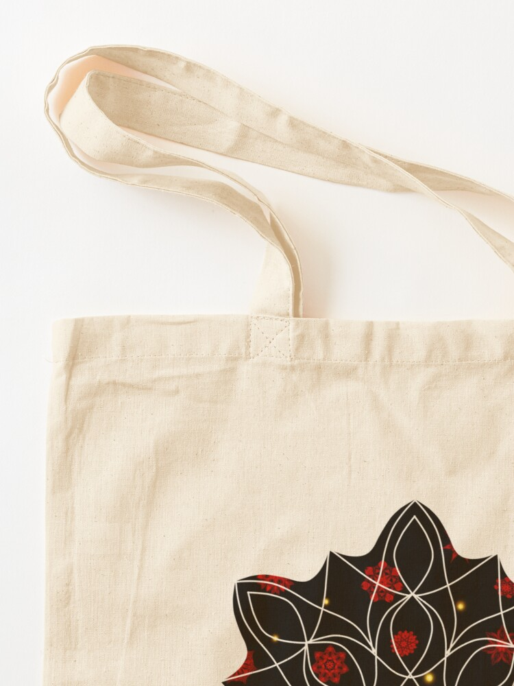 Alternate view of Fire in the Night Tote Bag