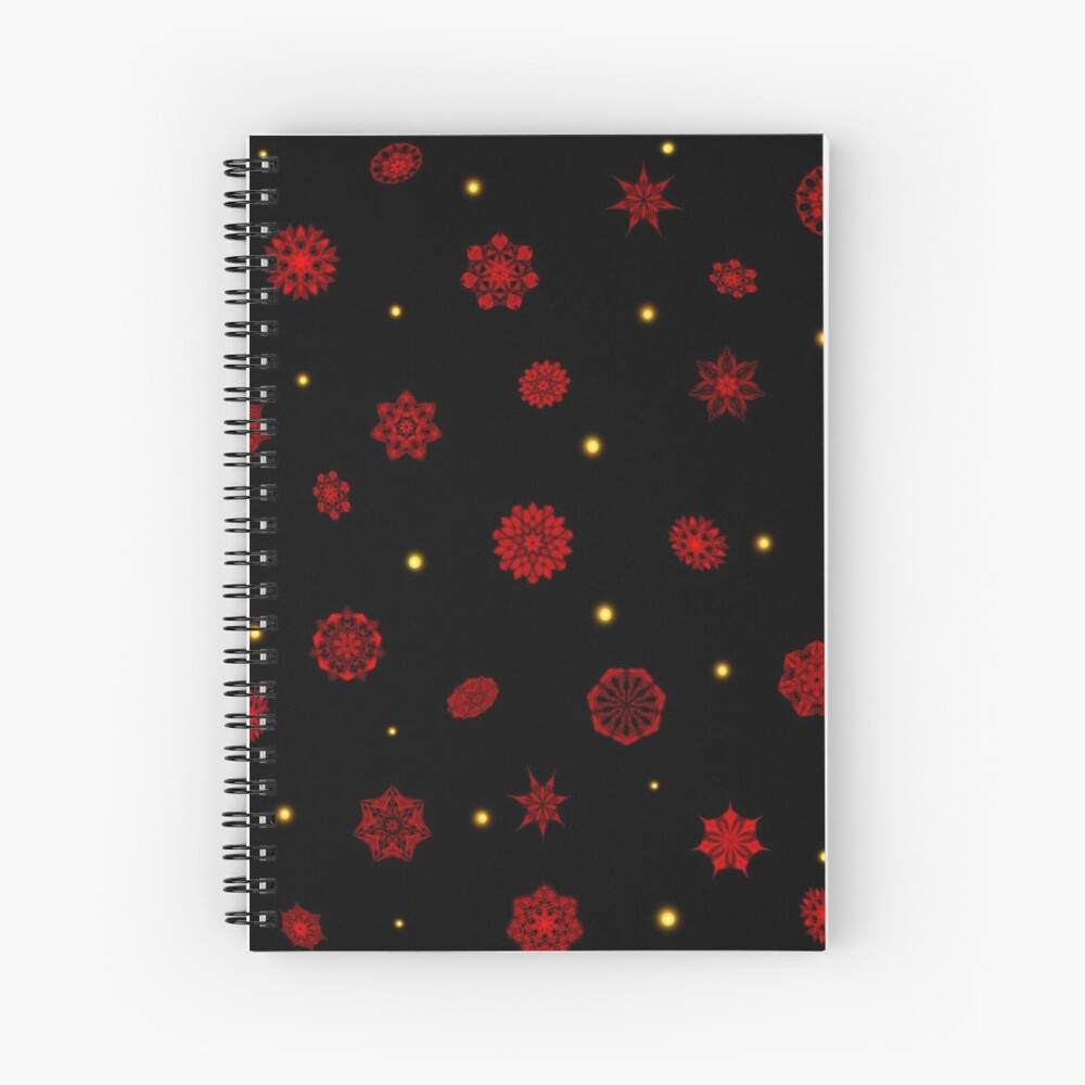 Fire in the Night Spiral Notebook