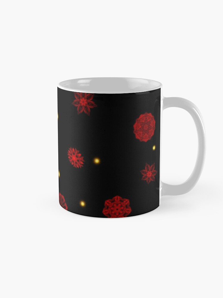 Alternate view of Fire in the Night Mug