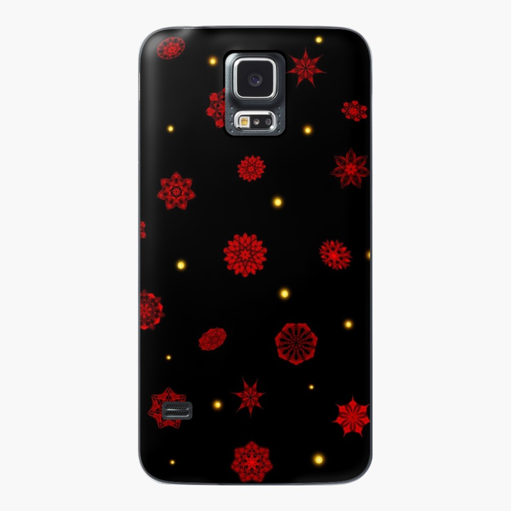 Fire in the Night Case & Skin for Samsung Galaxy