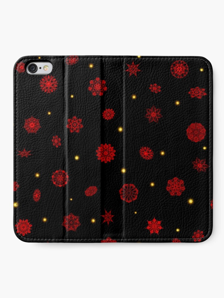 Alternate view of Fire in the Night iPhone Wallet