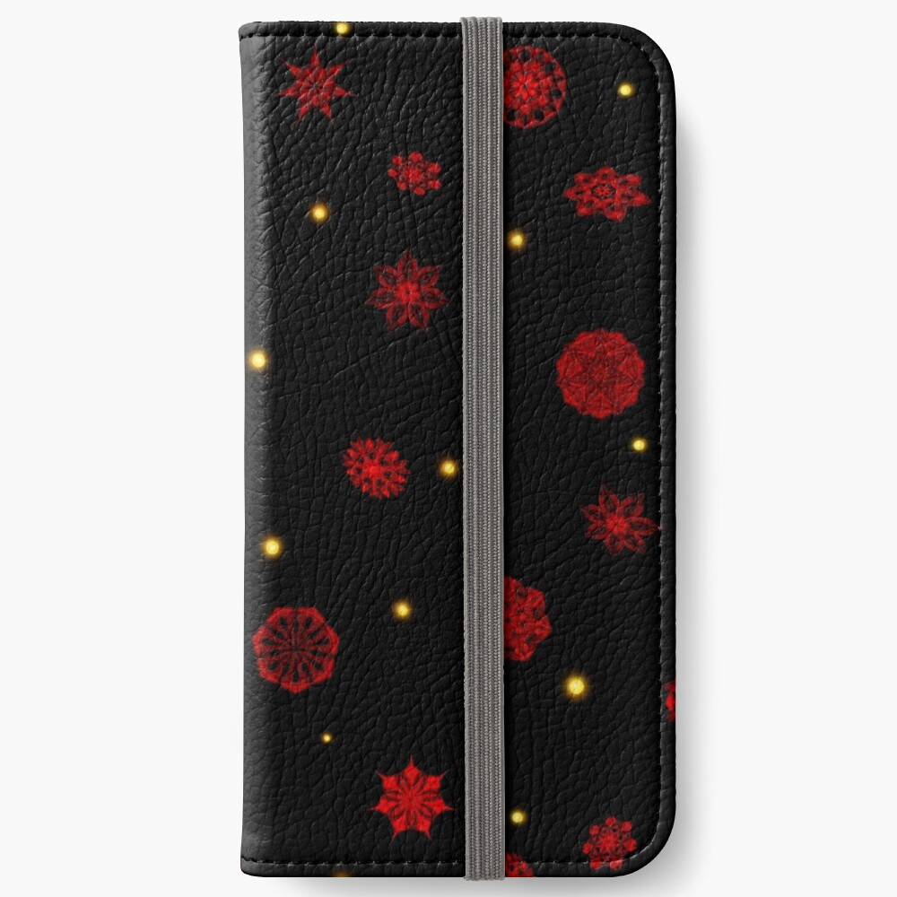 Fire in the Night iPhone Wallet