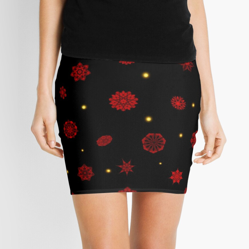 Fire in the Night Mini Skirt