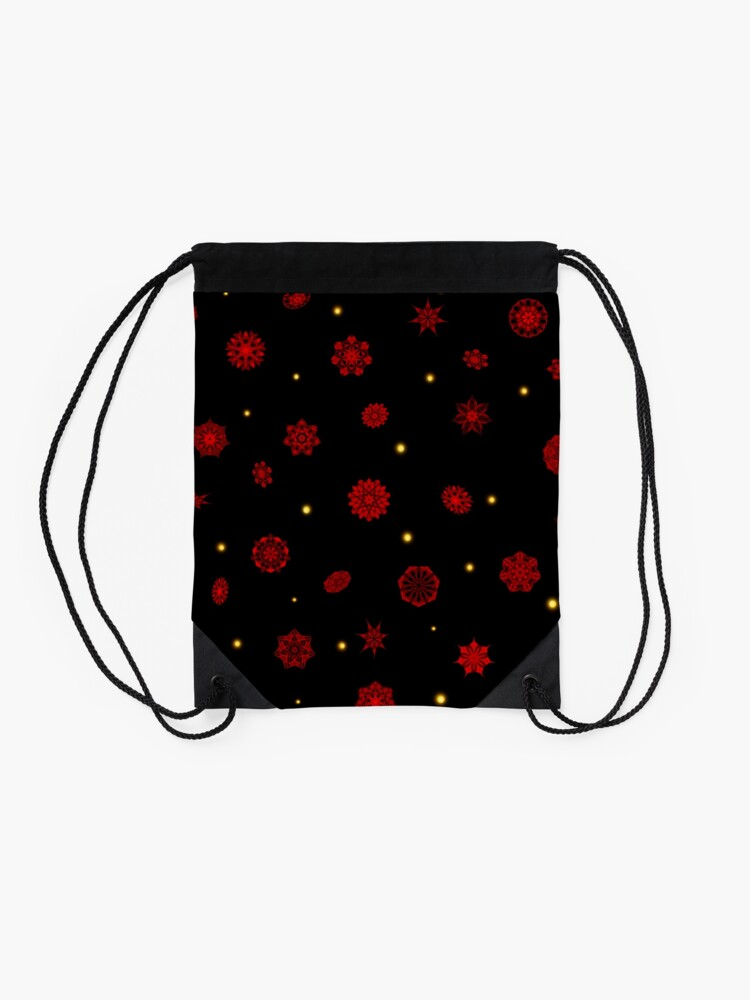 Alternate view of Fire in the Night Drawstring Bag