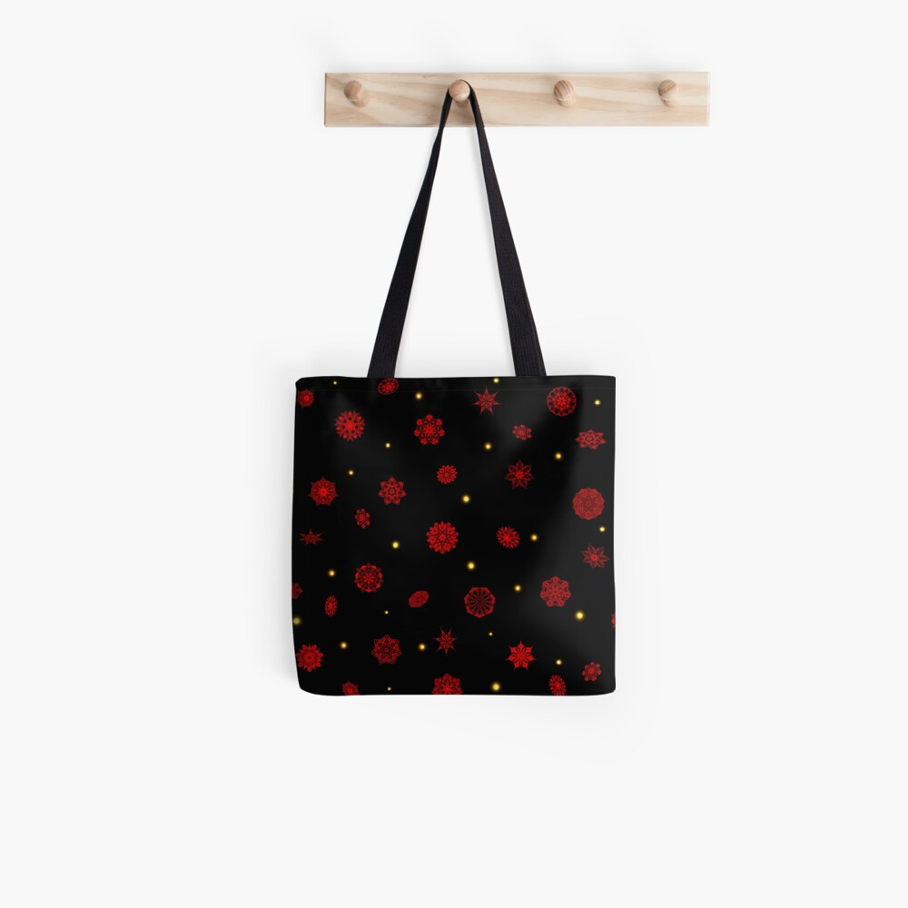 Fire in the Night Tote Bag