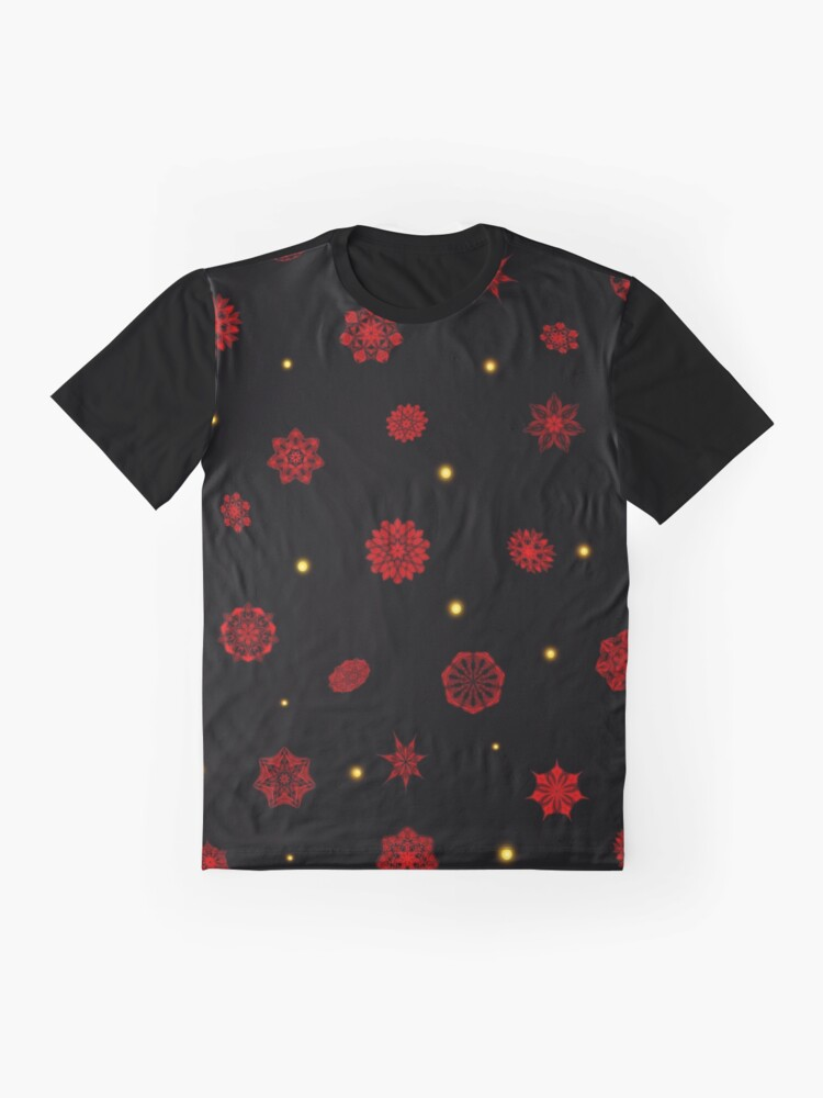 Alternate view of Fire in the Night Graphic T-Shirt
