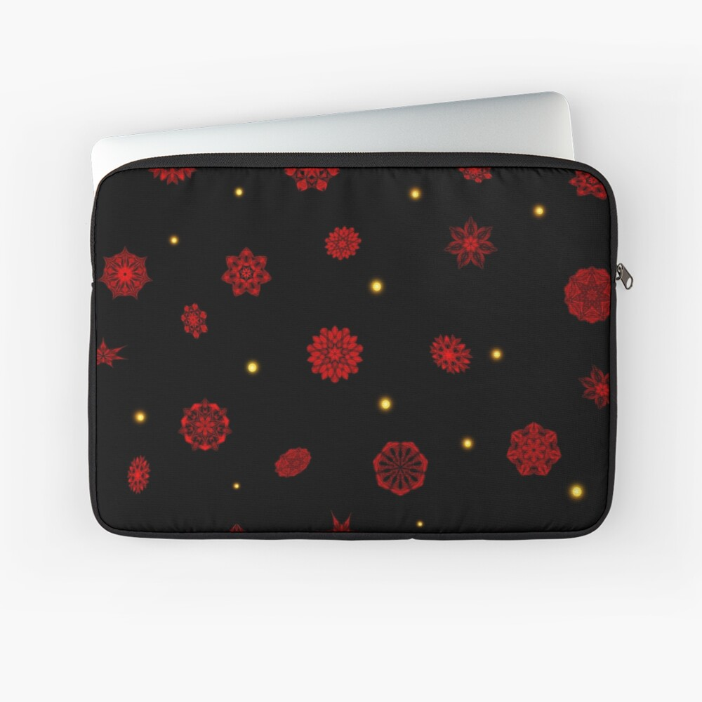 Fire in the Night Laptop Sleeve