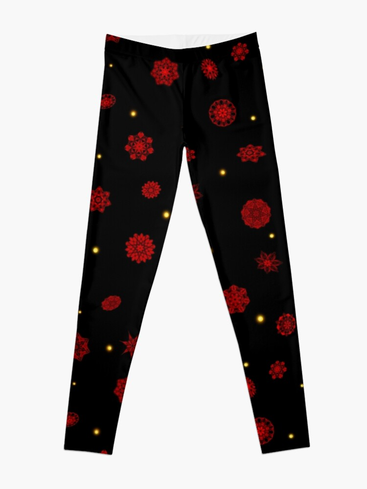 Alternate view of Fire in the Night Leggings