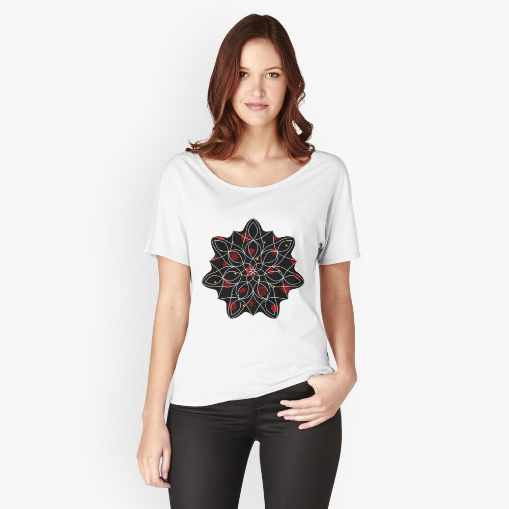 Fire in the Night Relaxed Fit T-Shirt