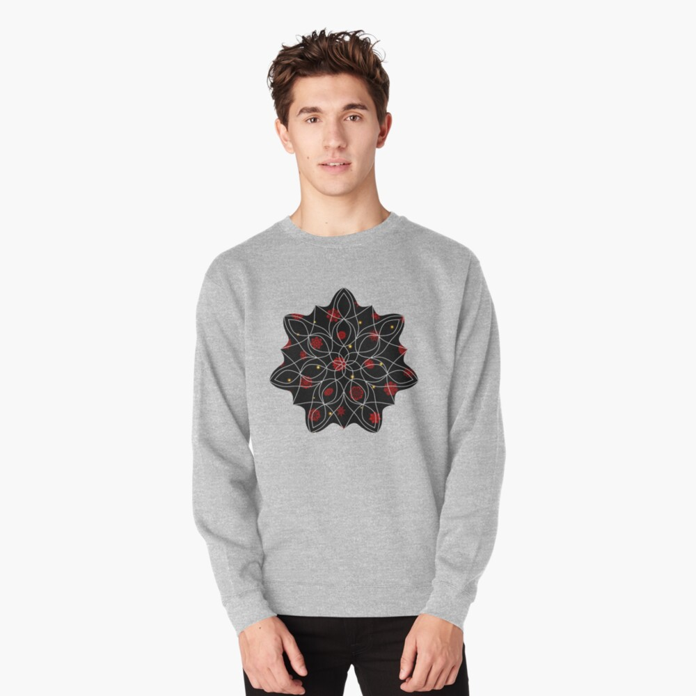 Fire in the Night Pullover Sweatshirt