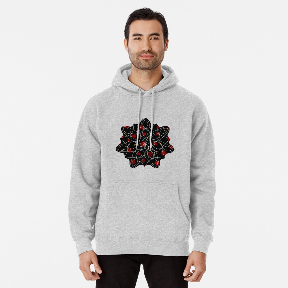 Fire in the Night Pullover Hoodie