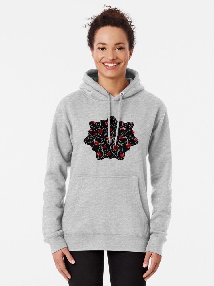 Alternate view of Fire in the Night Pullover Hoodie