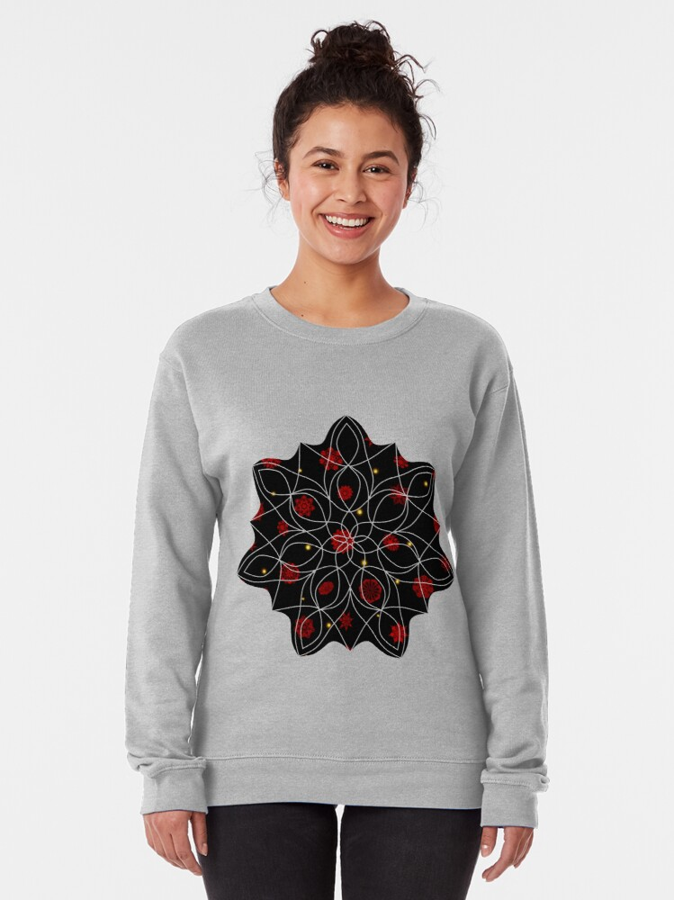 Alternate view of Fire in the Night Pullover Sweatshirt