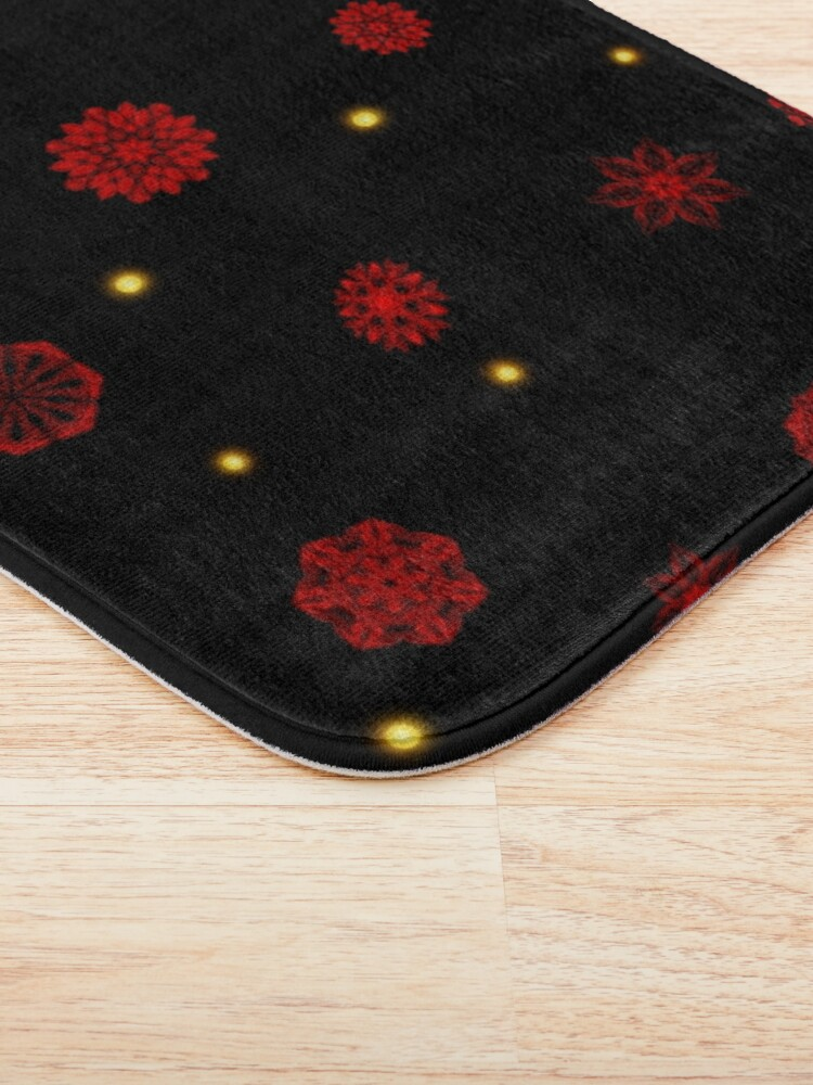 Alternate view of Fire in the Night Bath Mat