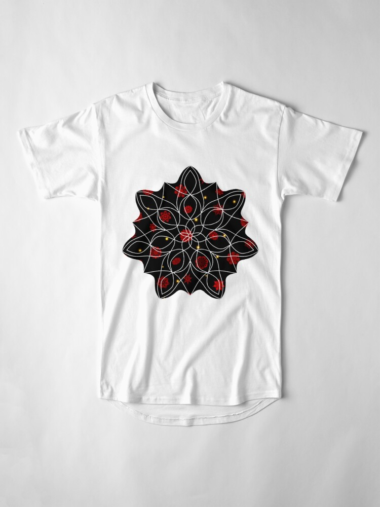 Alternate view of Fire in the Night Long T-Shirt