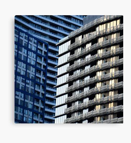 City Shapes II Canvas Print