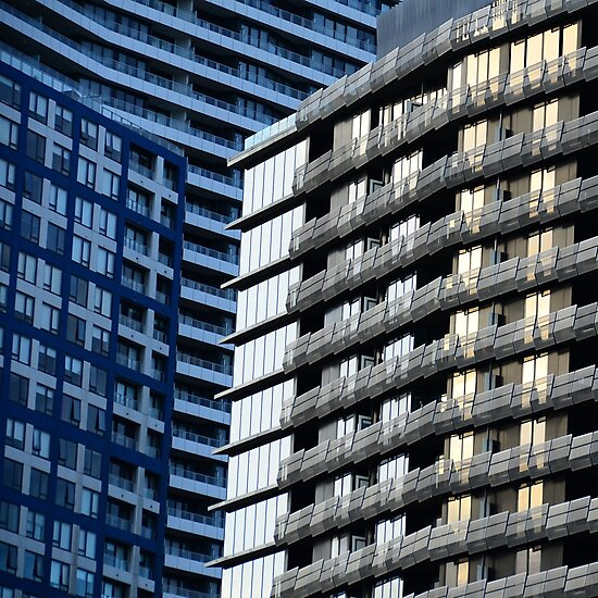 City Shapes II by Georgie Hart