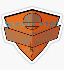 usa la tshirt by rogers bros Sticker