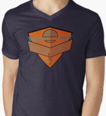 usa california cars tshirt by rogers bros Men's V-Neck T-Shirt