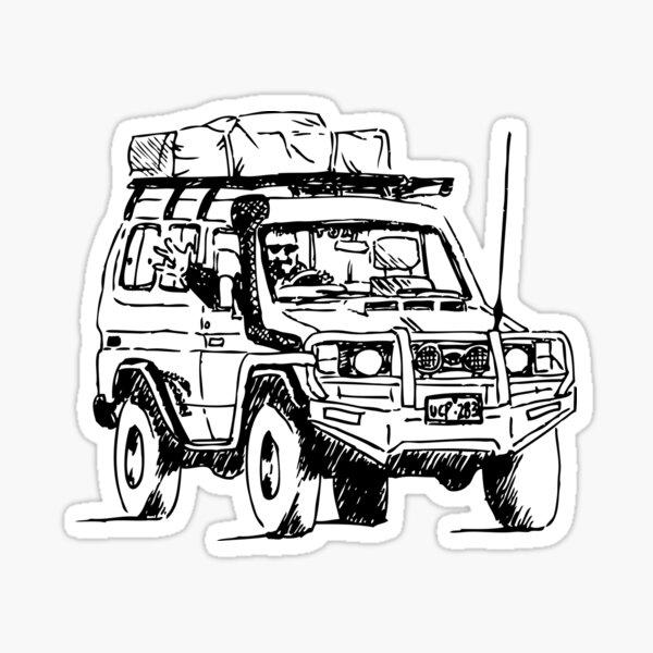 Tribute to Johnno Sticker