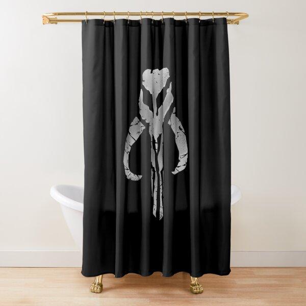 Bounty Hunter Emblem v2 Shower Curtain
