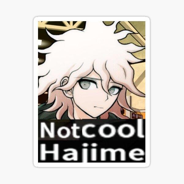 not cool Hajime Sticker