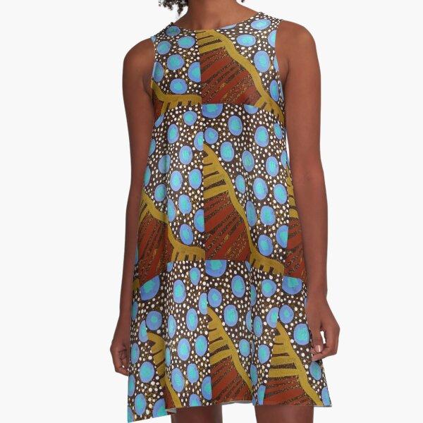 Quandong A-Line Dress
