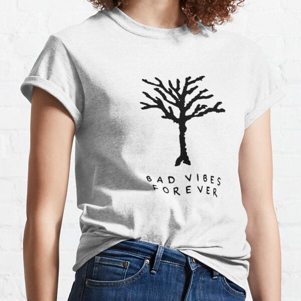 XXXTentacion Bad Vibes Forever Tree Tattoo Camiseta clásica