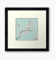 Sakura Cherry Blossoms Framed Print