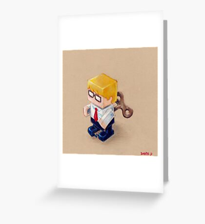 Office Space (EP illustration) Greeting Card