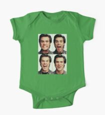 Jim Carrey faces in color Kids Clothes